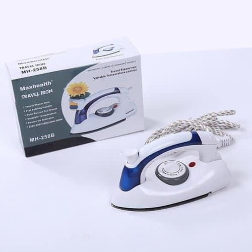 Portable Travelling Foldable Steam Pressing Iron low watts 1