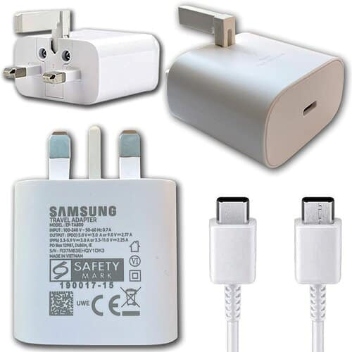 Samsung 25W Super Fast Wall Charger 2 1
