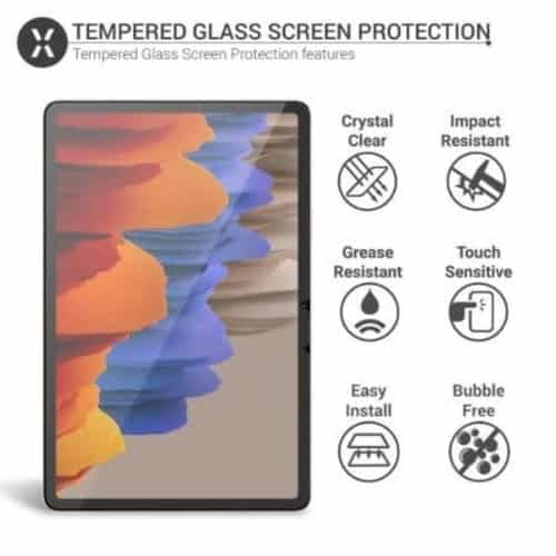 Samsung Galaxy Tab S7 Plus 12.4 Tempered Glass Screen Protector