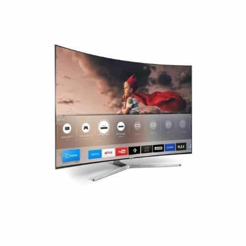 polystar smart curved Tv 50 inches 1